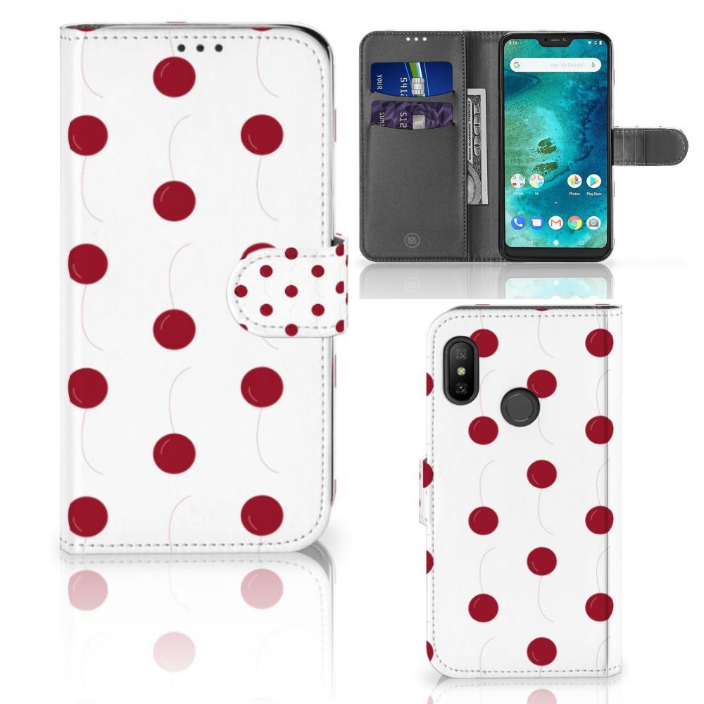 Xiaomi Mi A2 Lite Book Cover Cherries