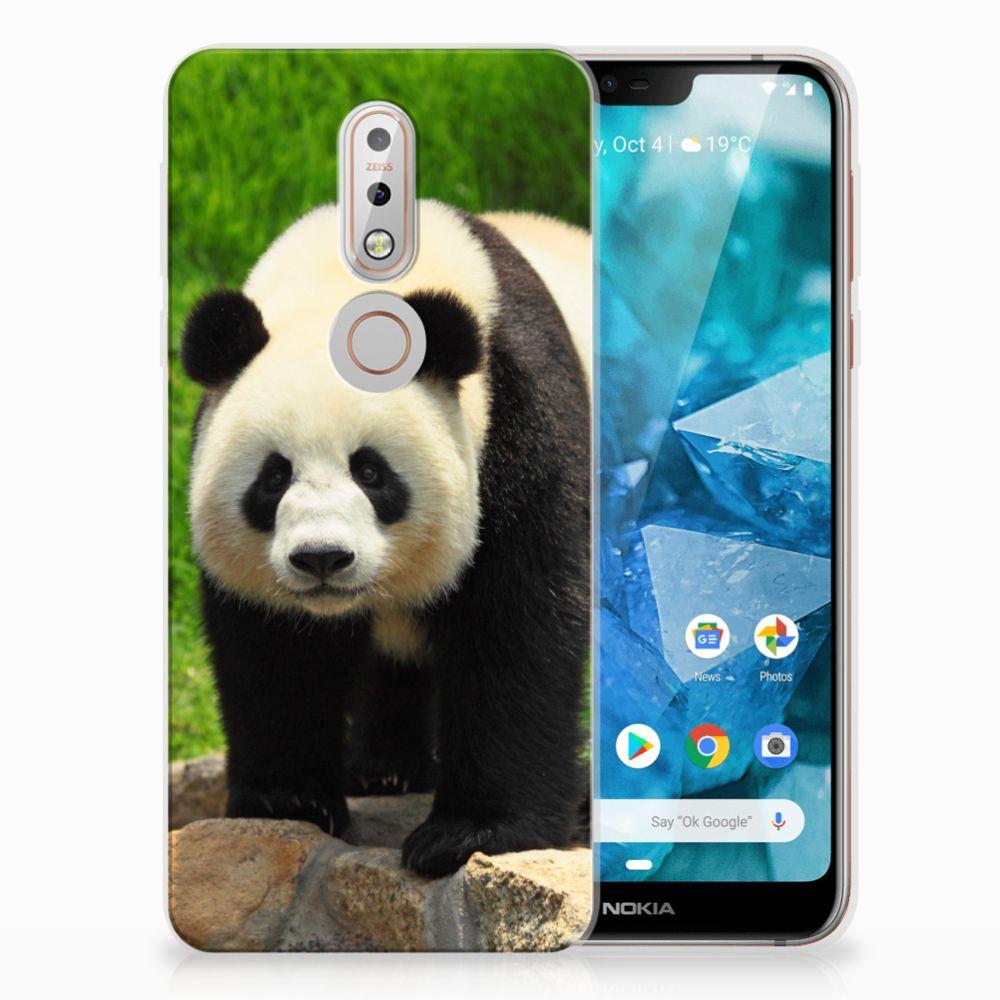 Nokia 7.1 TPU Hoesje Design Panda