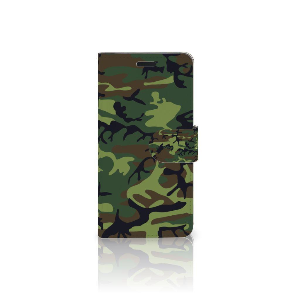 HTC 10 Boekhoesje Design Army Dark