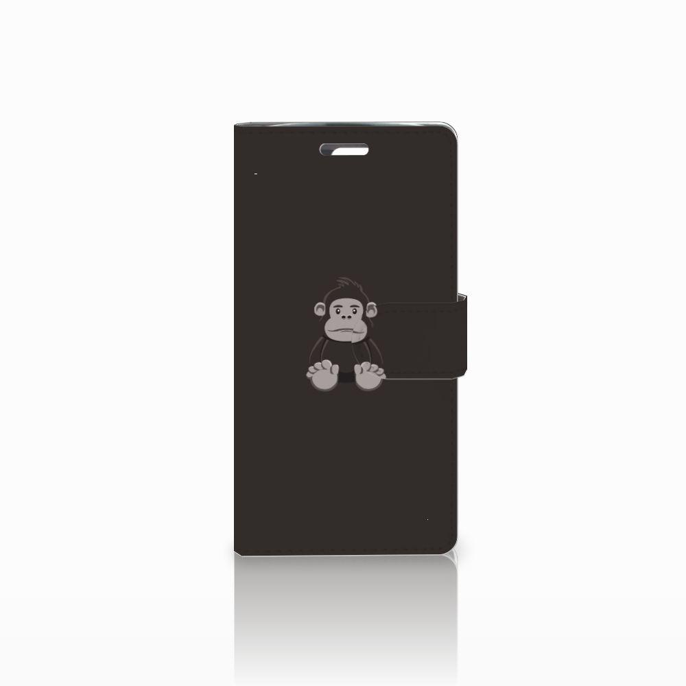 LG K10 2015 Uniek Boekhoesje Gorilla