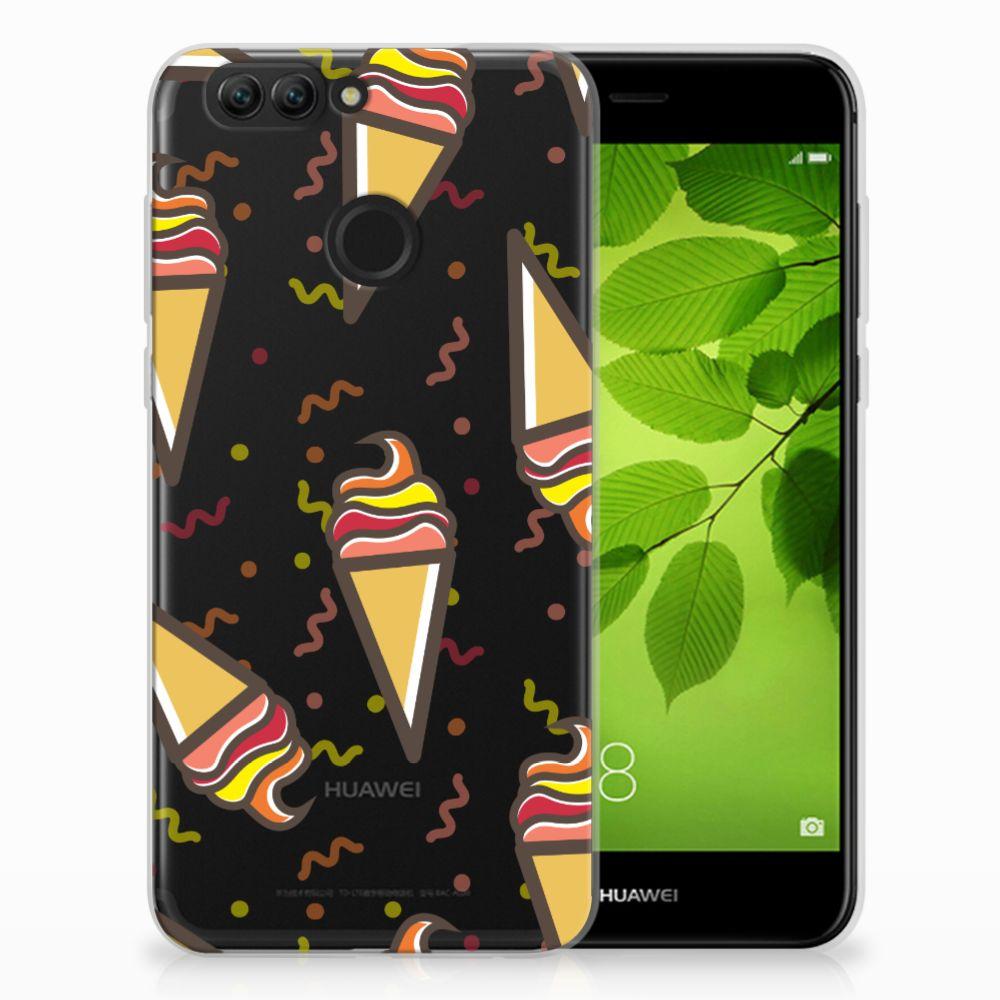 Huawei Nova 2 Siliconen Case Icecream
