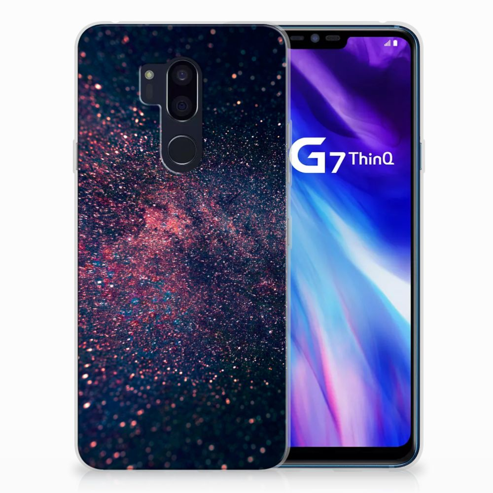 LG G7 Thinq TPU Hoesje Stars