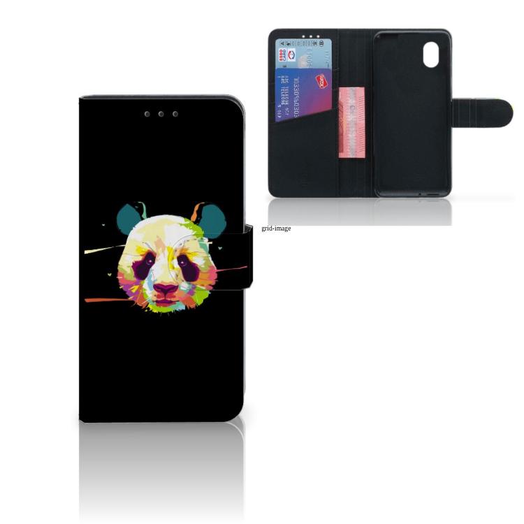 Alcatel 1B (2020) Leuk Hoesje Panda Color