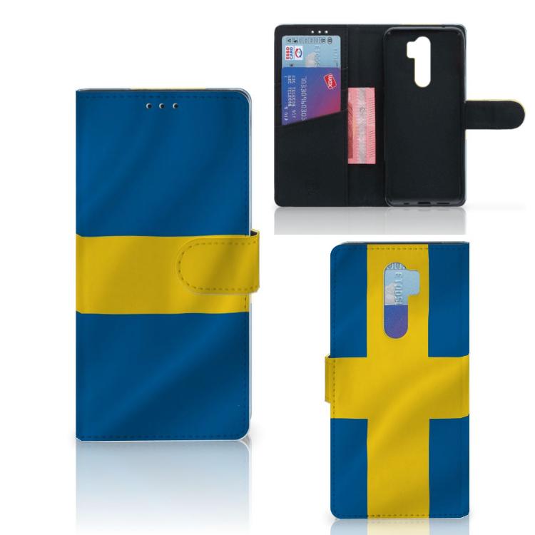 Xiaomi Note 8 Pro Bookstyle Case Zweden