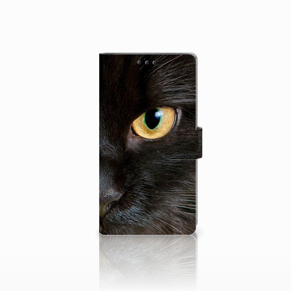 Sony Xperia XA2 Ultra Uniek Boekhoesje Zwarte Kat
