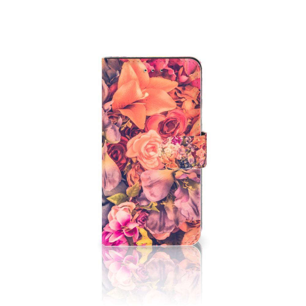 Samsung Galaxy J4 2018 Boekhoesje Design Bosje Bloemen