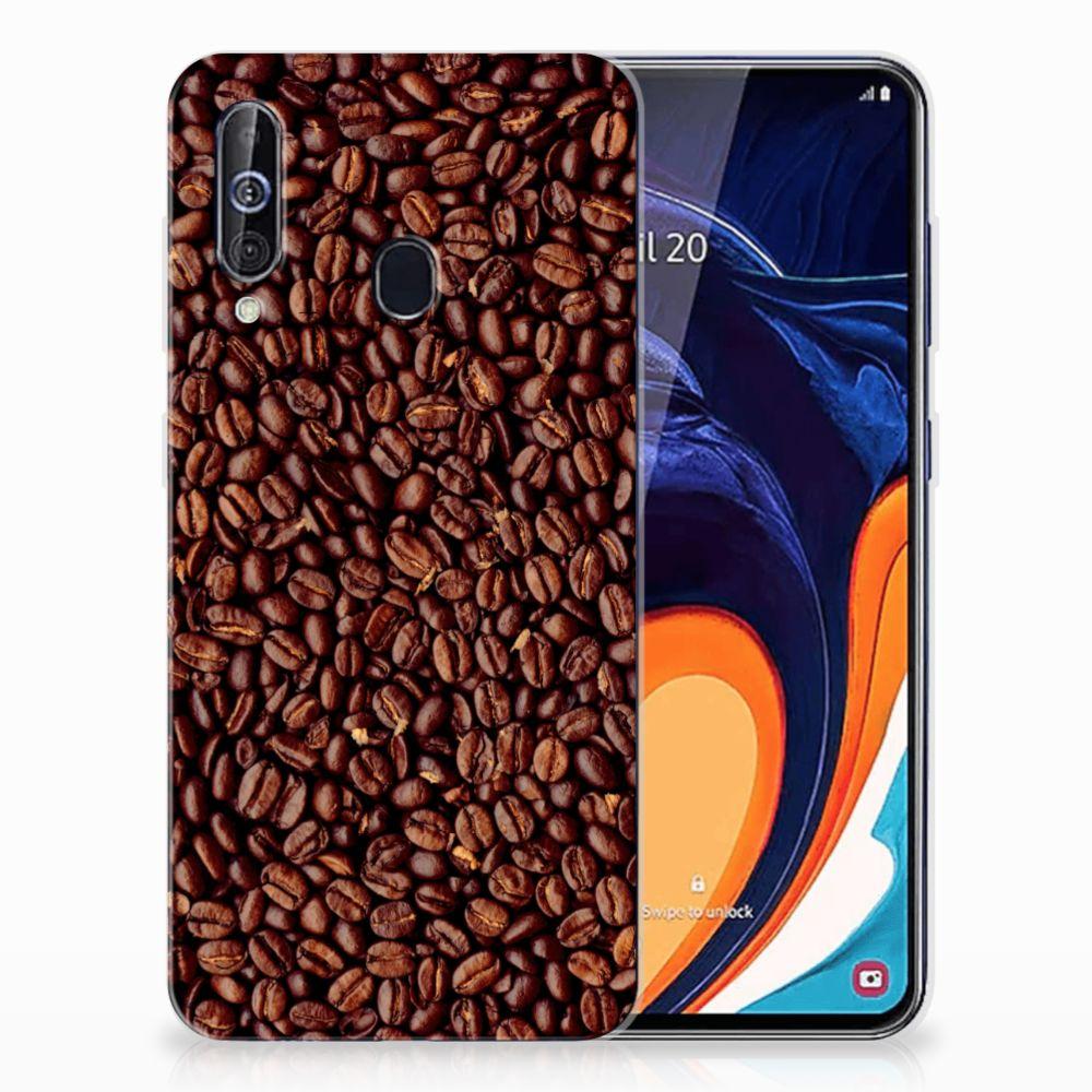 Samsung Galaxy A60 Siliconen Case Koffiebonen