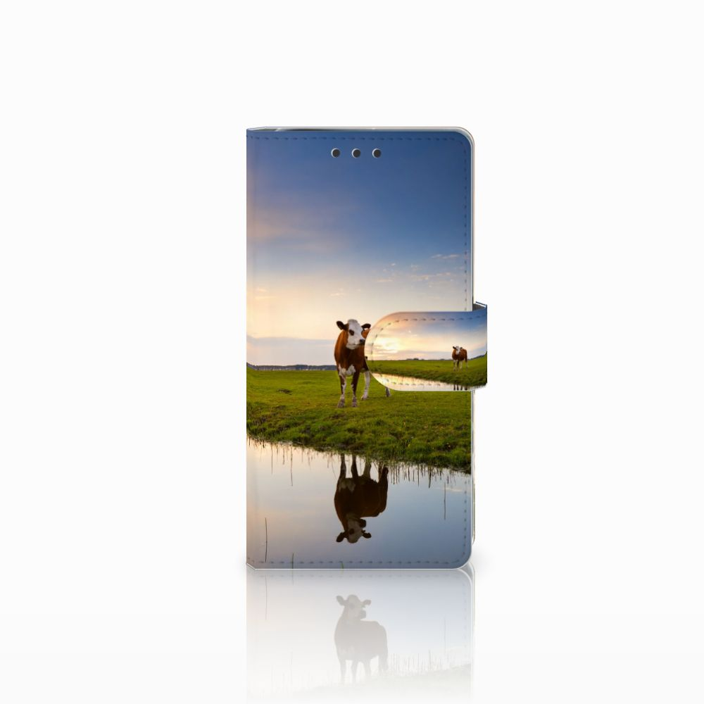 Sony Xperia X Performance Boekhoesje Design Koe