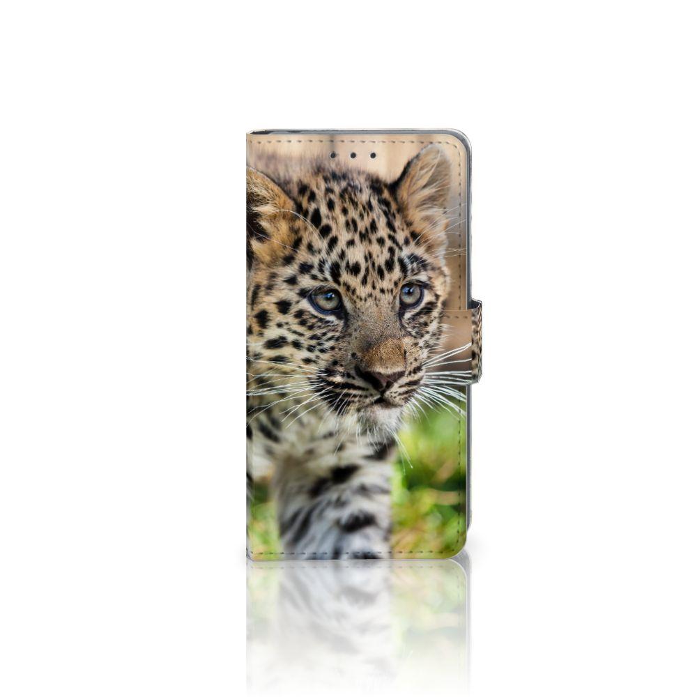 Sony Xperia Z2 Uniek Boekhoesje Baby Luipaard