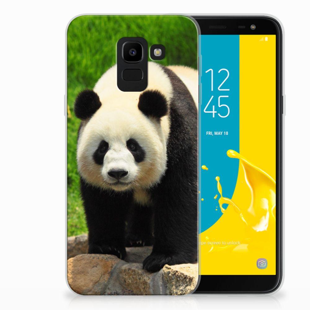 Samsung Galaxy J6 2018 TPU Hoesje Design Panda