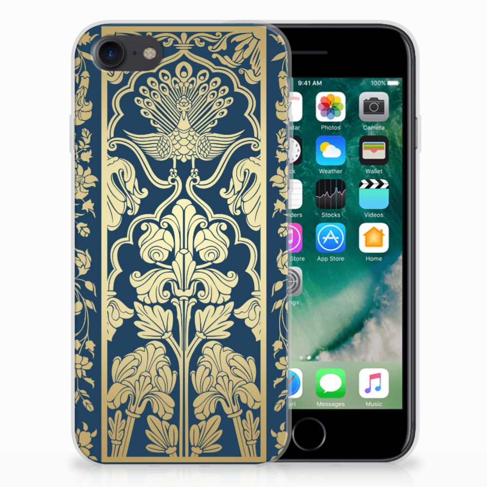 Apple iPhone 7 | 8 TPU Case Golden Flowers