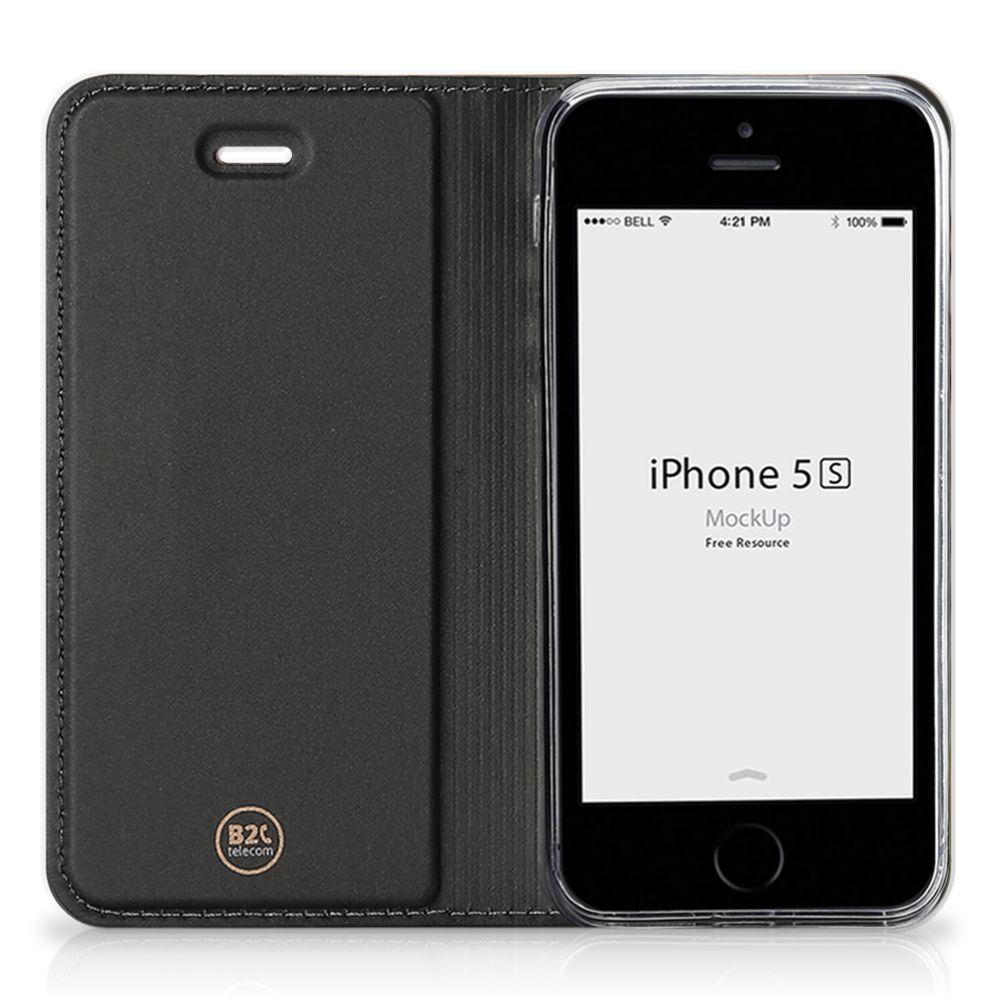 iPhone SE 5S 5 Hoesje maken Baby Luipaard