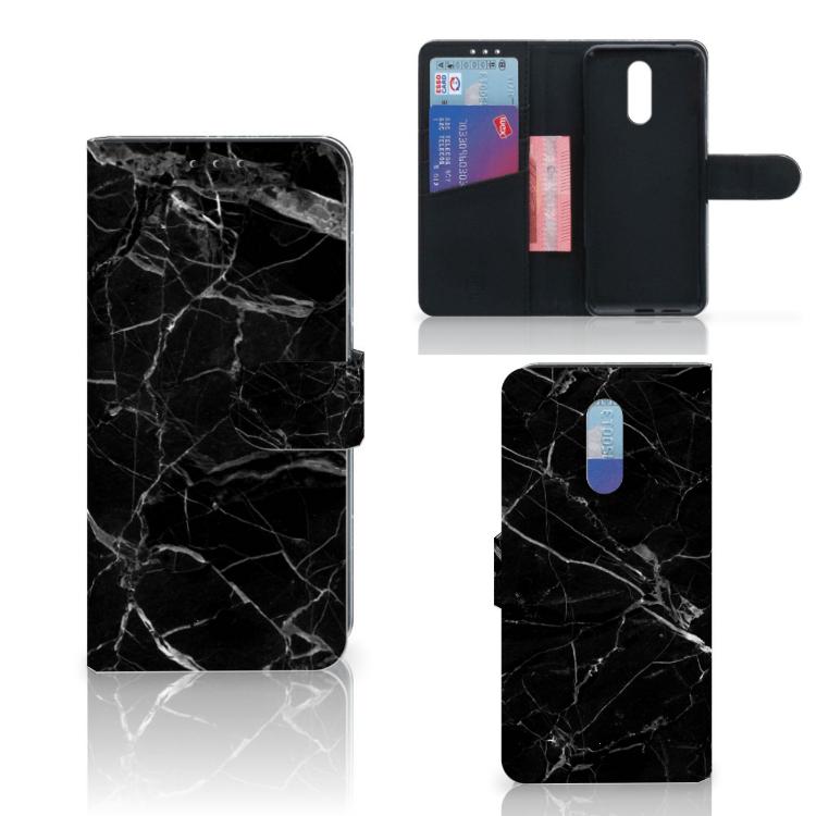 Nokia 3.2 Bookcase Marmer Zwart
