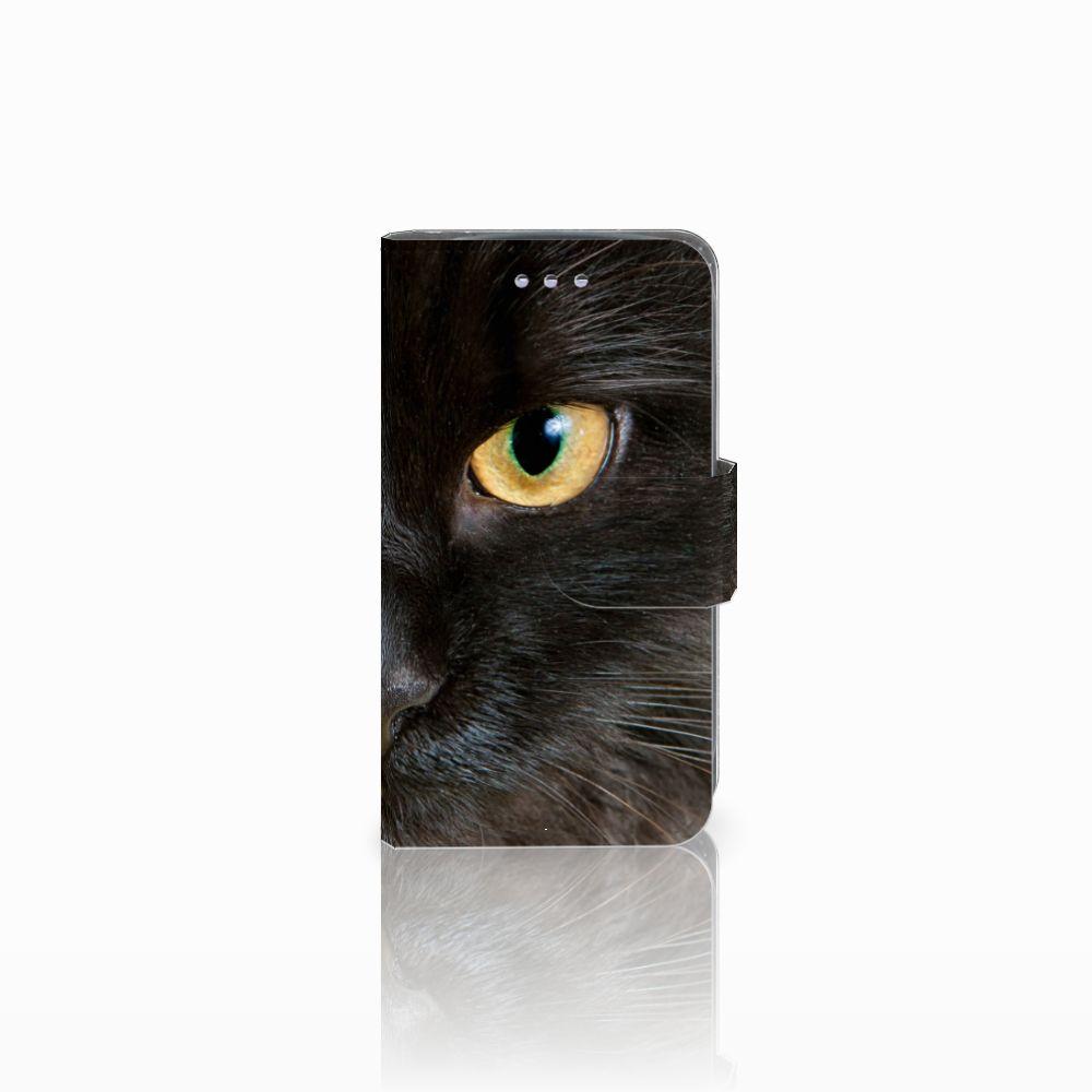 Samsung Galaxy S3 Mini Uniek Boekhoesje Zwarte Kat