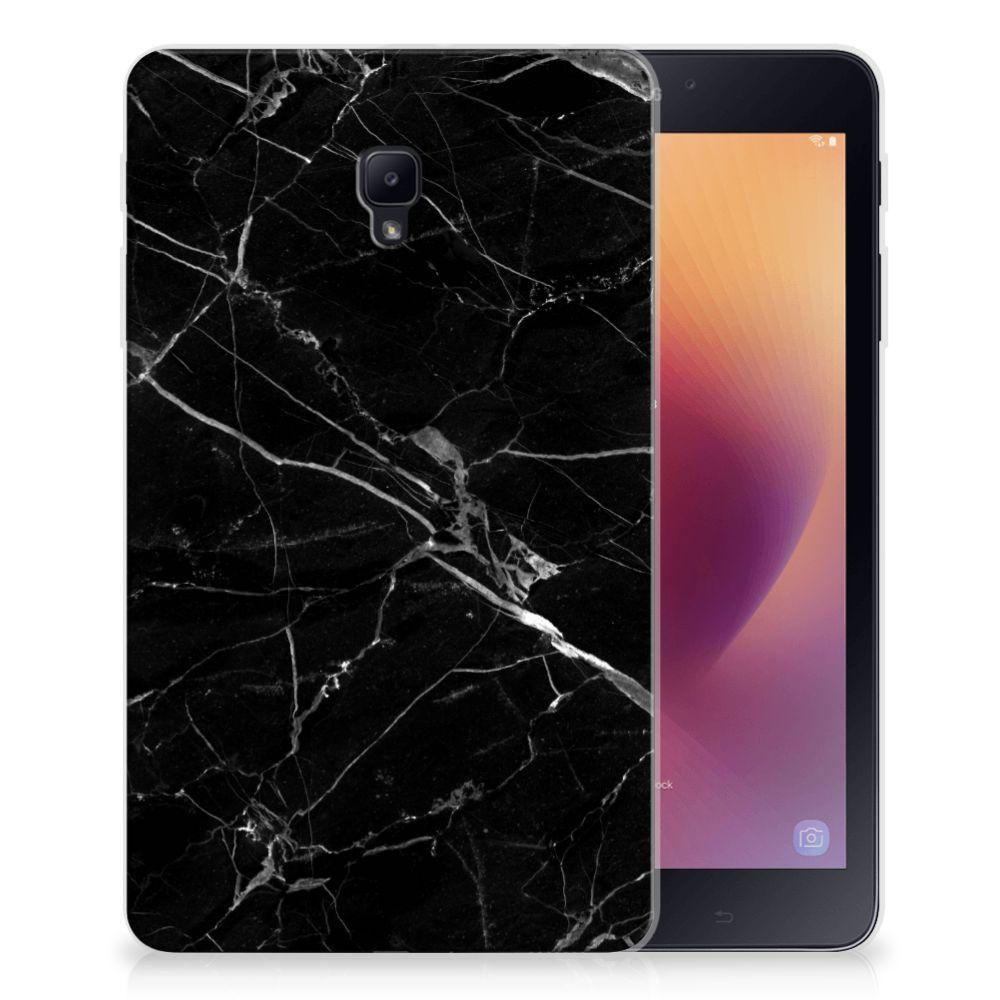 Samsung Galaxy Tab A 8.0 (2017) Tablet Back Cover Marmer Zwart