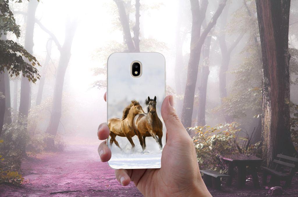 Samsung Galaxy J5 2017 Uniek TPU Hoesje Paarden