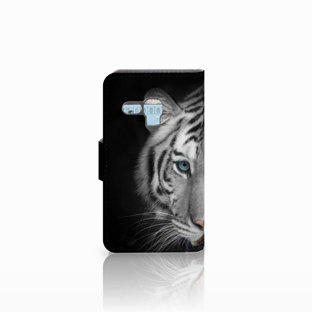 Samsung Galaxy S3 Mini Telefoonhoesje met Pasjes Tijger