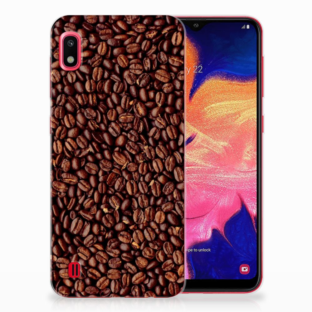 Samsung Galaxy A10 Siliconen Case Koffiebonen