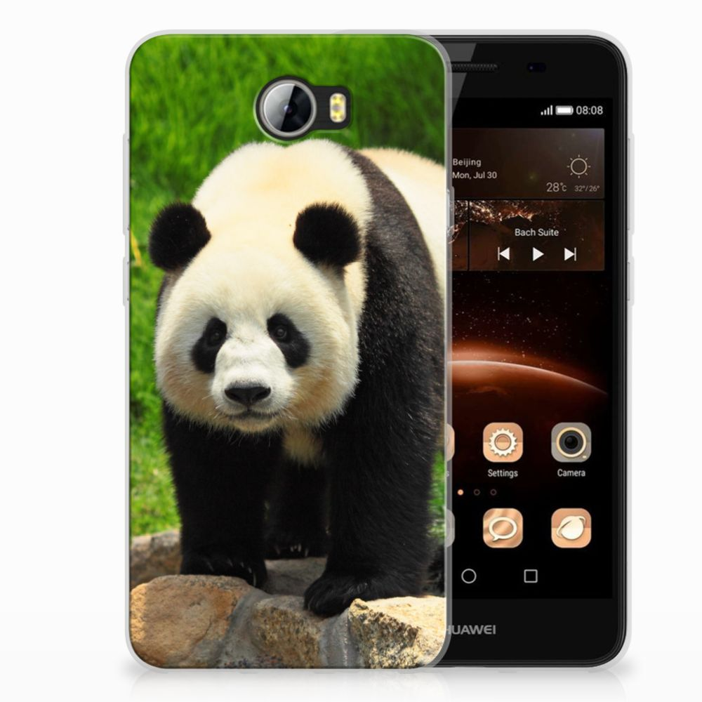 Huawai Y5 II | Y6 II Compact TPU Hoesje Panda