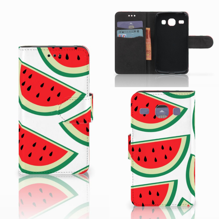 Samsung Galaxy Core i8260 Book Cover Watermelons