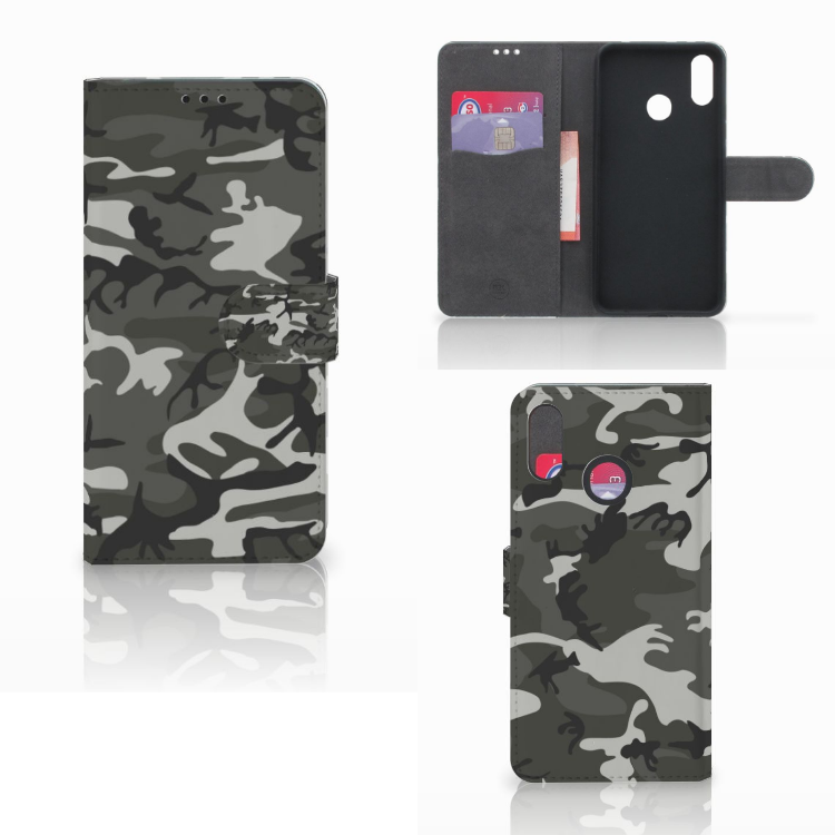 Huawei P Smart Plus Telefoon Hoesje Army Light