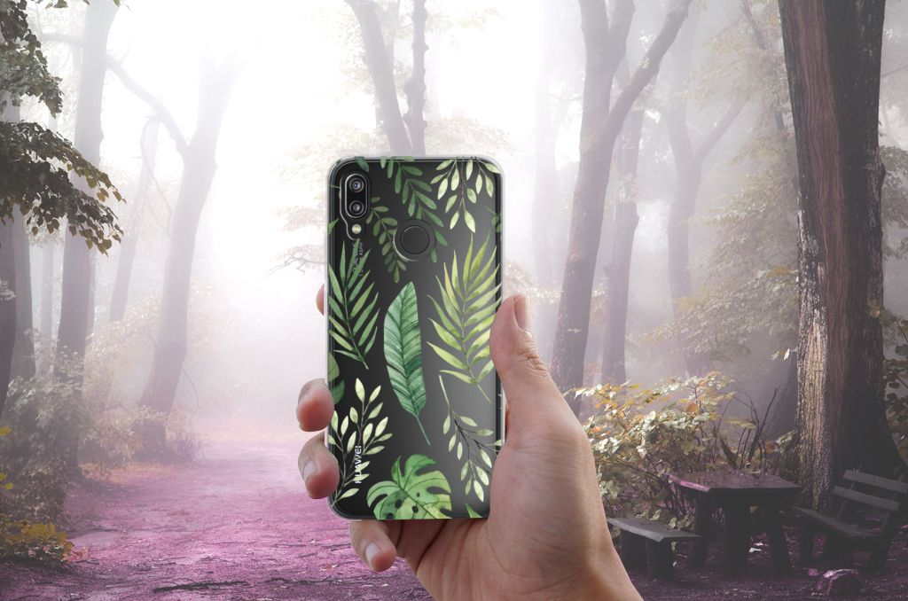 Huawei P20 Lite TPU Case Leaves