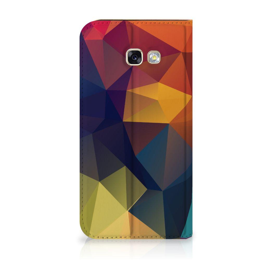 Samsung Galaxy A5 2017 Stand Case Polygon Color