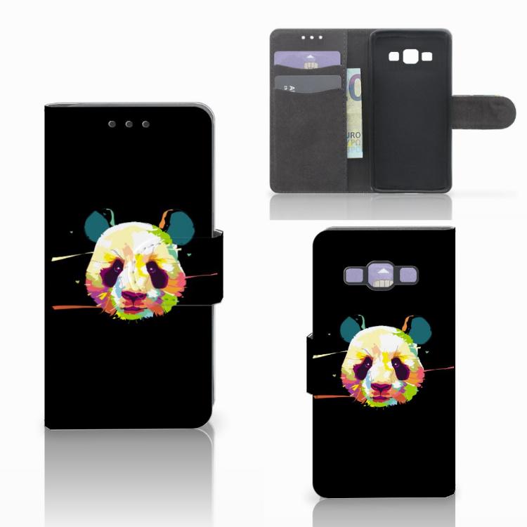 Samsung Galaxy A3 2015 Leuke Hoesje Panda Color