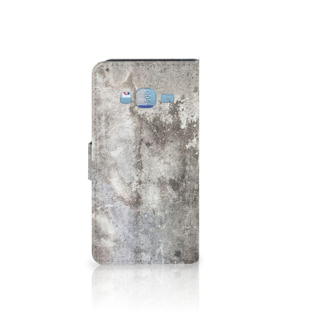 Samsung Galaxy J3 2016 Bookcase Beton Print