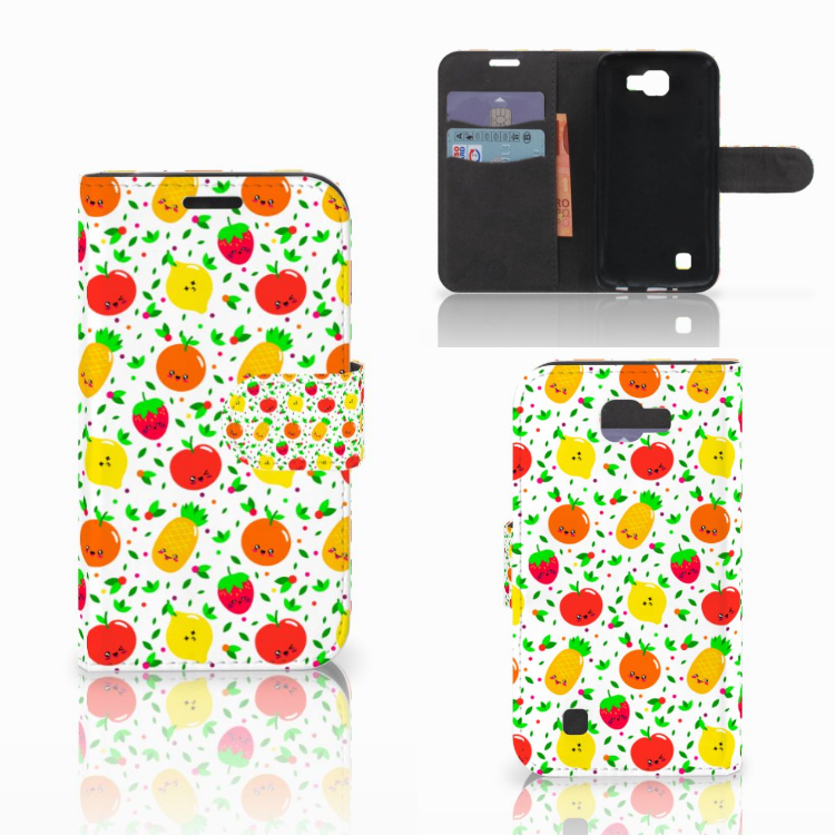 LG K4 Book Cover Fruits
