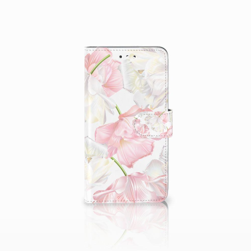 Huawei Y7 2017   Y7 Prime 2017 Boekhoesje Design Lovely Flowers