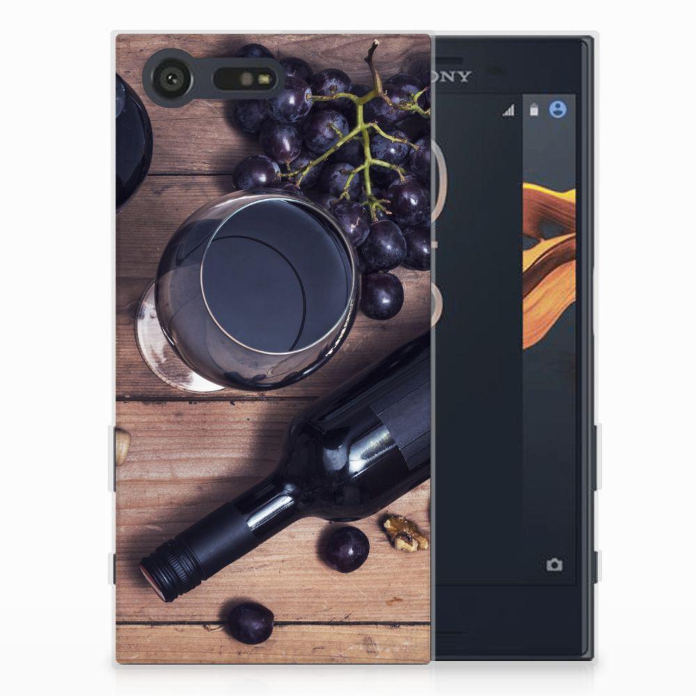 Sony Xperia X Compact Siliconen Case Wijn