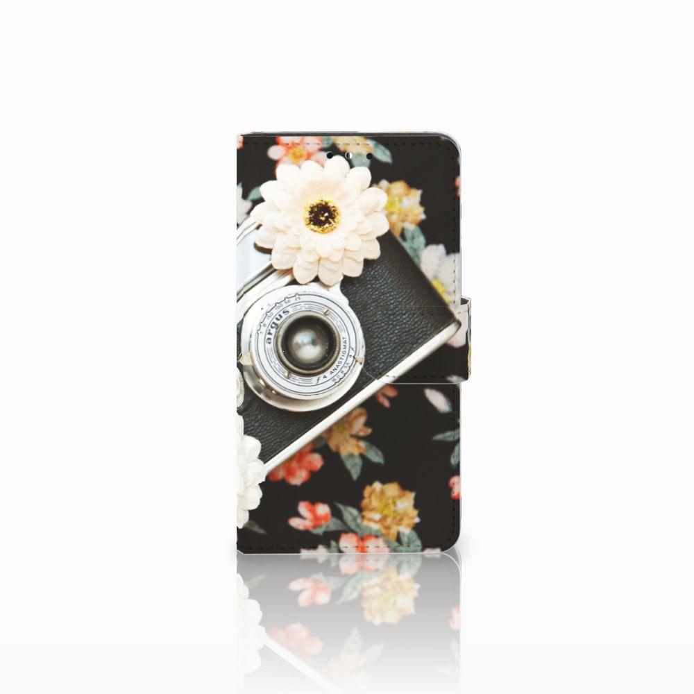 Huawei Y5 | Y6 2017 Uniek Boekhoesje Vintage Camera