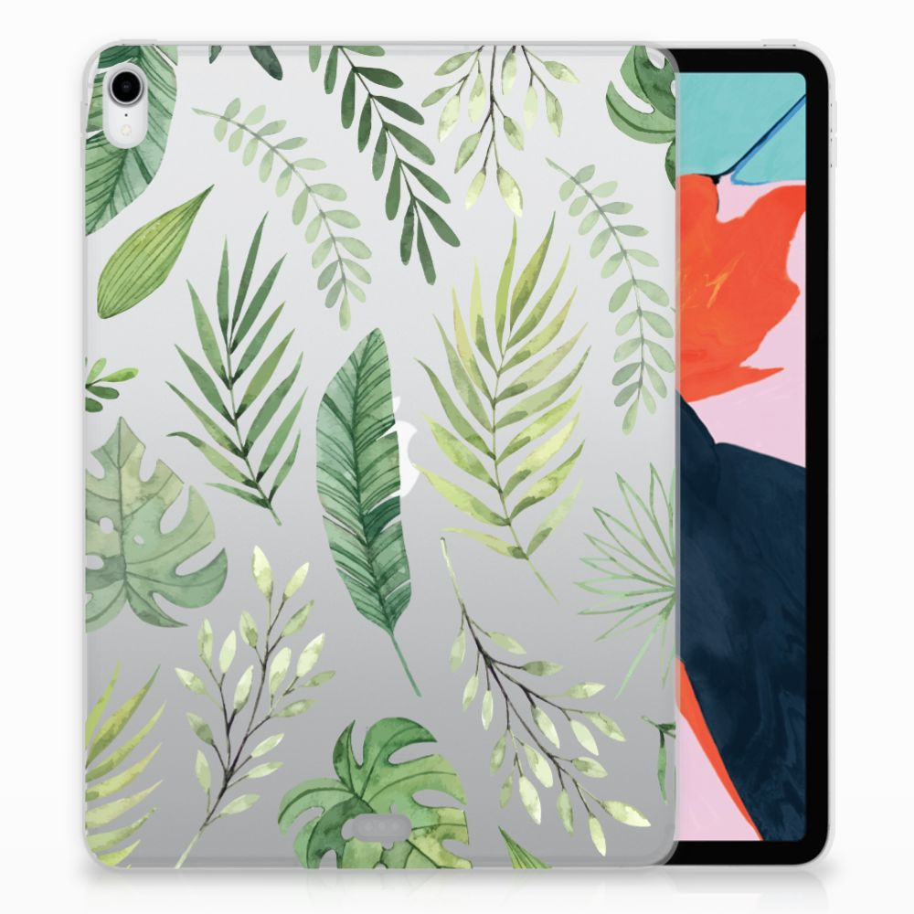 Apple iPad Pro 11 inch (2018) TPU Case Leaves
