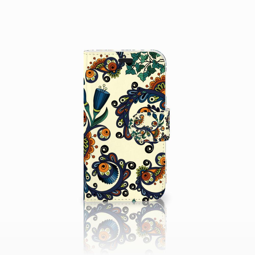 LG L Fino Boekhoesje Design Barok Flower