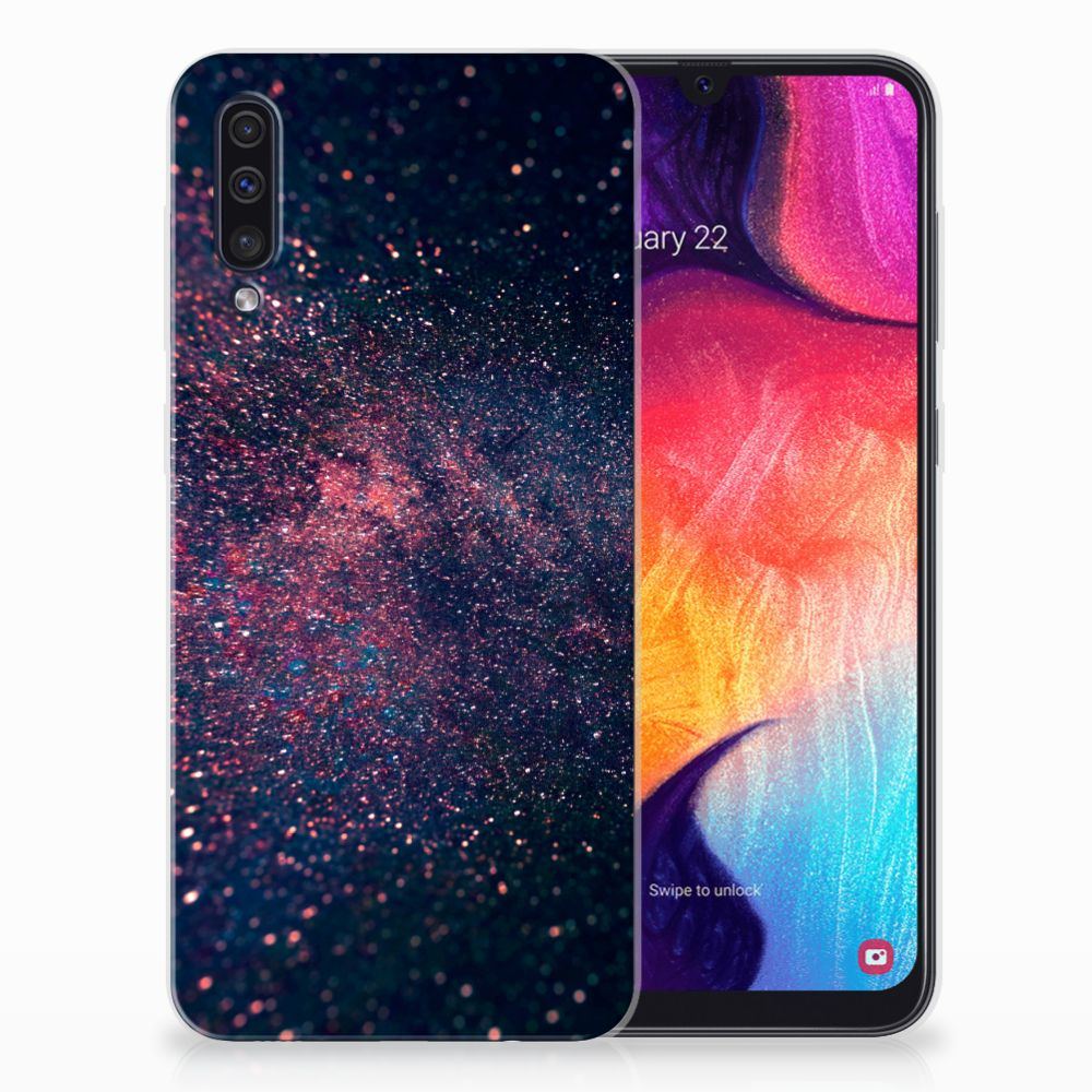 Samsung Galaxy A50 TPU Hoesje Stars