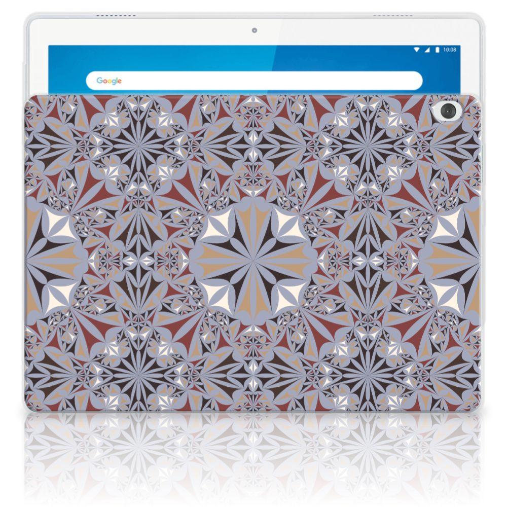 Lenovo Tab M10 Tablet Back Cover Flower Tiles