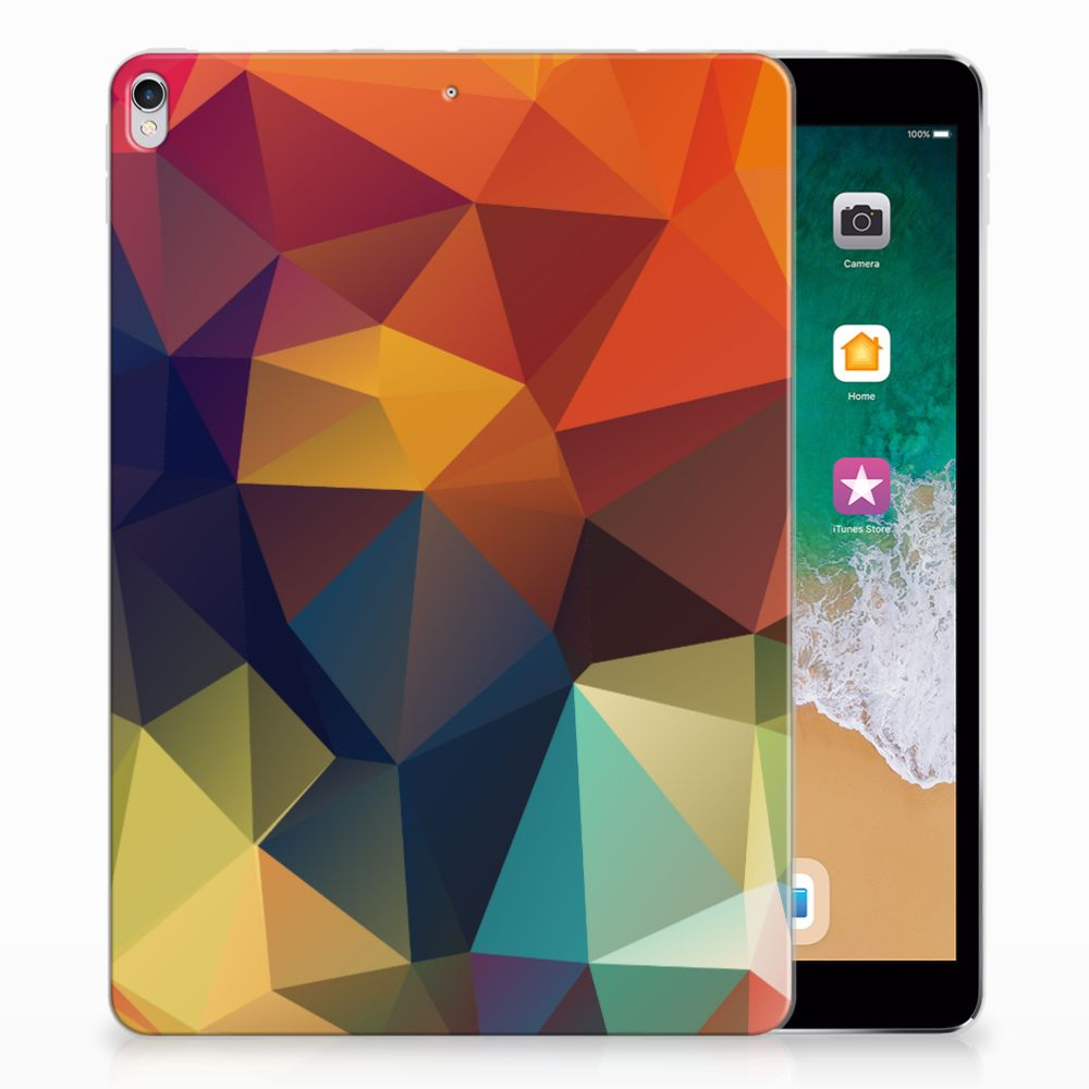 Apple iPad Pro 10.5 Back Cover Polygon Color