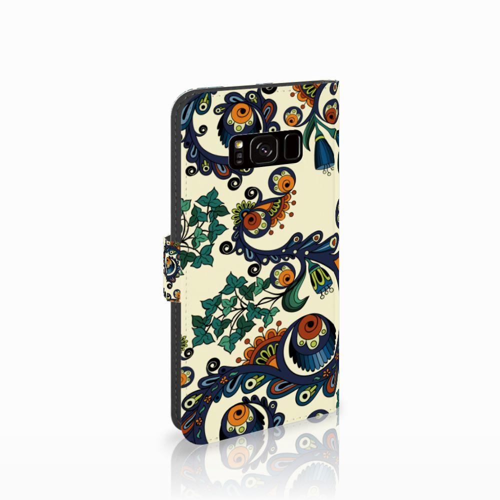 Samsung Galaxy S8 Boekhoesje Design Barok Flower
