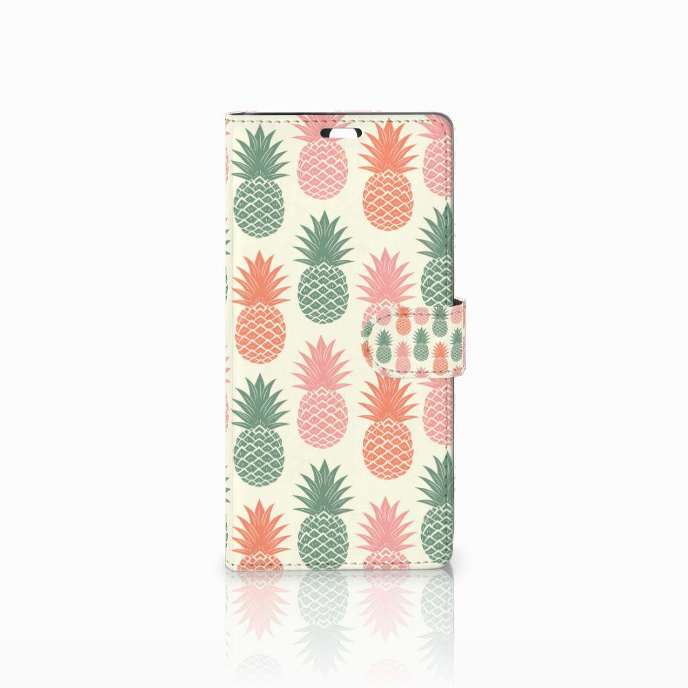 Sony Xperia C5 Ultra Boekhoesje Design Ananas