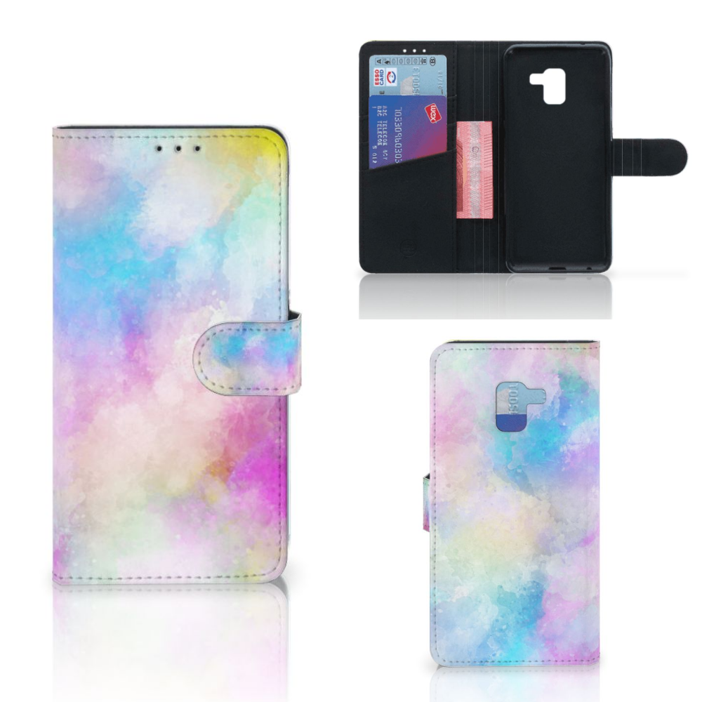 Hoesje Samsung Galaxy A8 Plus (2018) Watercolor Light
