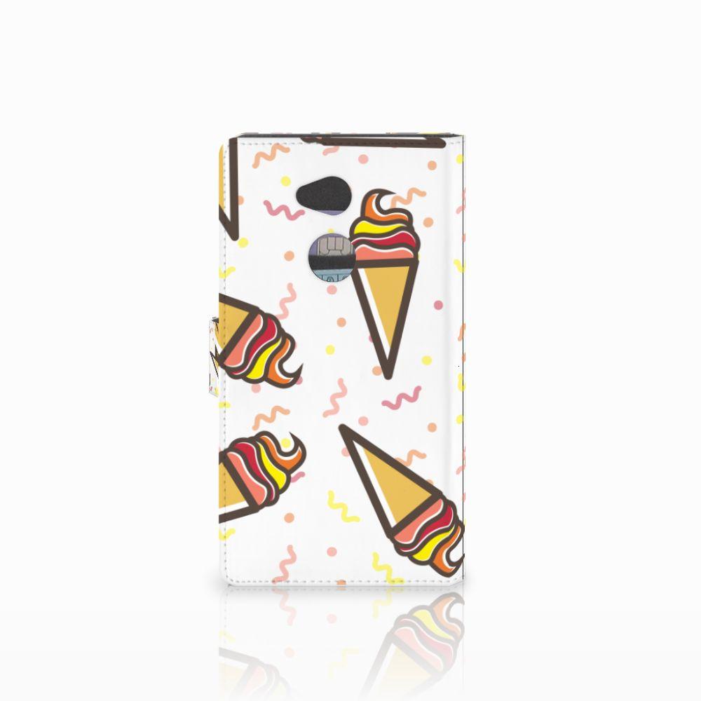 Sony Xperia XA2 Ultra Book Cover Icecream