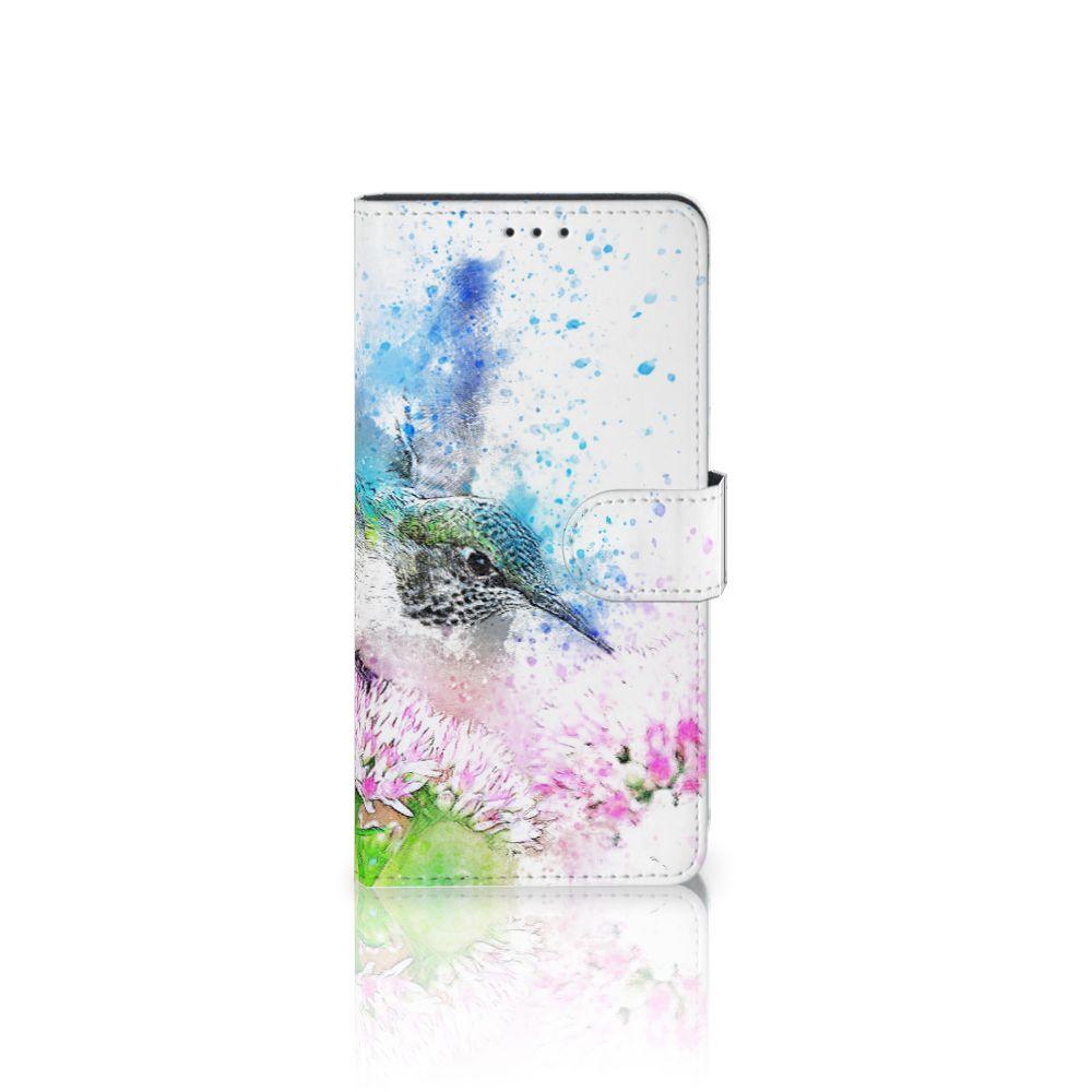 Samsung Galaxy A7 (2018) Boekhoesje Design Vogel