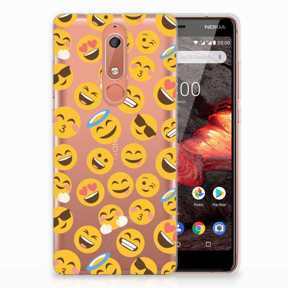 Nokia 5.1 (2018) TPU bumper Emoji