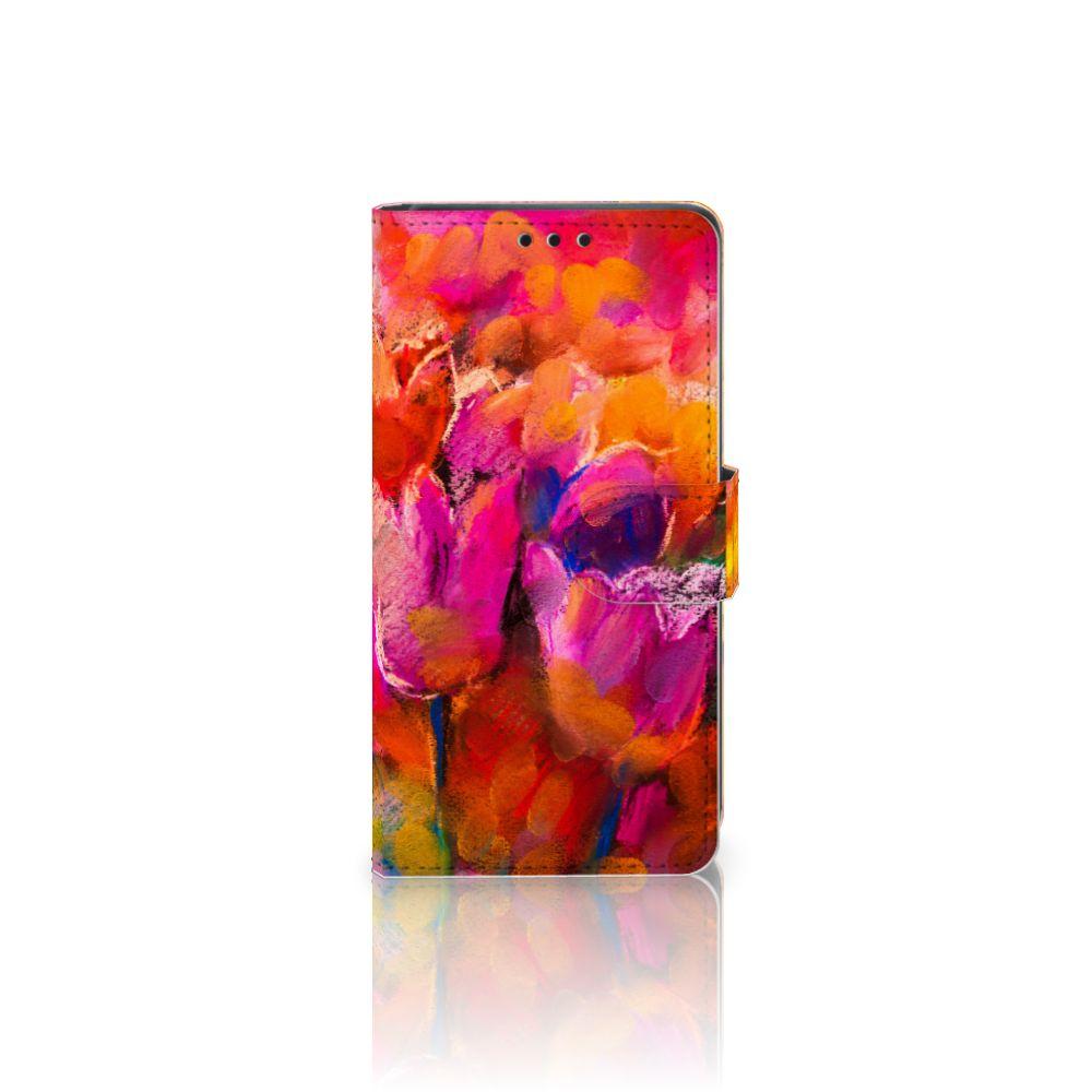 Sony Xperia Z5   Z5 Dual Boekhoesje Design Tulips
