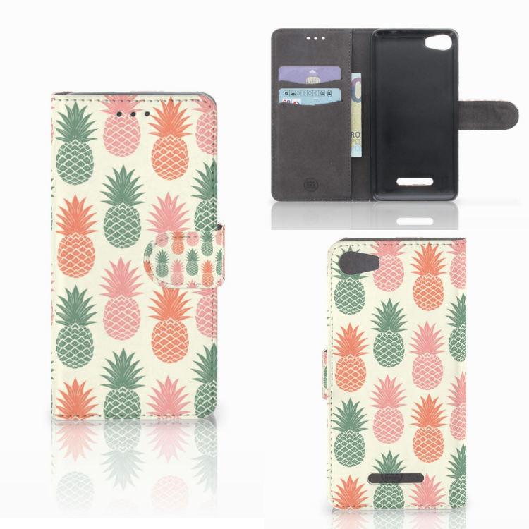 Wiko Lenny 2 Book Cover Ananas