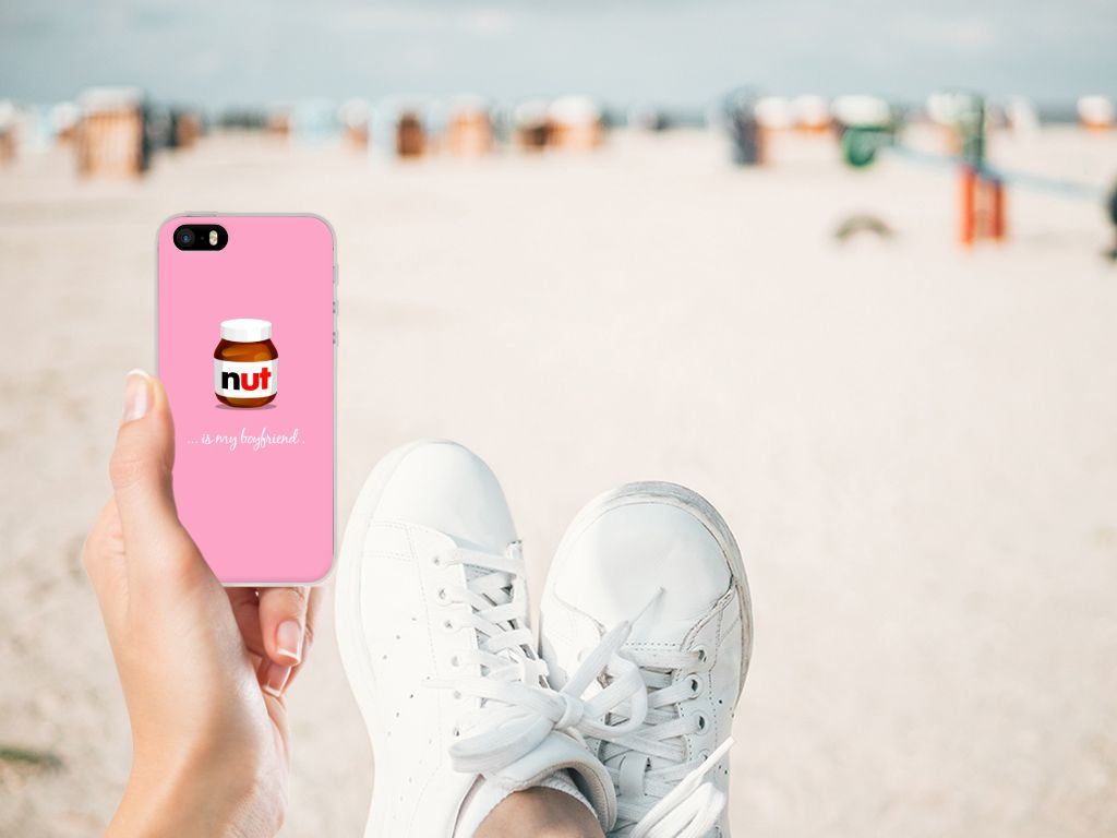 Apple iPhone SE | 5S Siliconen Case Nut Boyfriend
