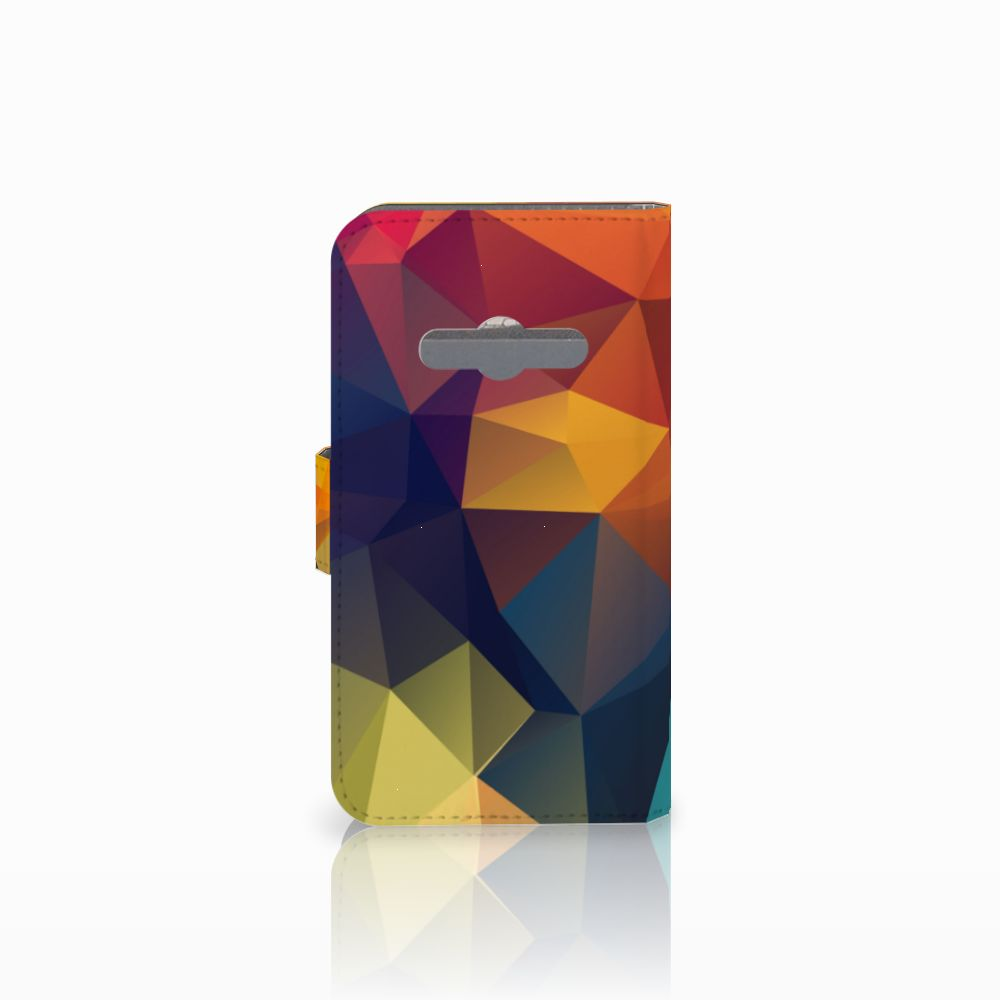 Samsung Galaxy Xcover 3 | Xcover 3 VE Bookcase Polygon Color