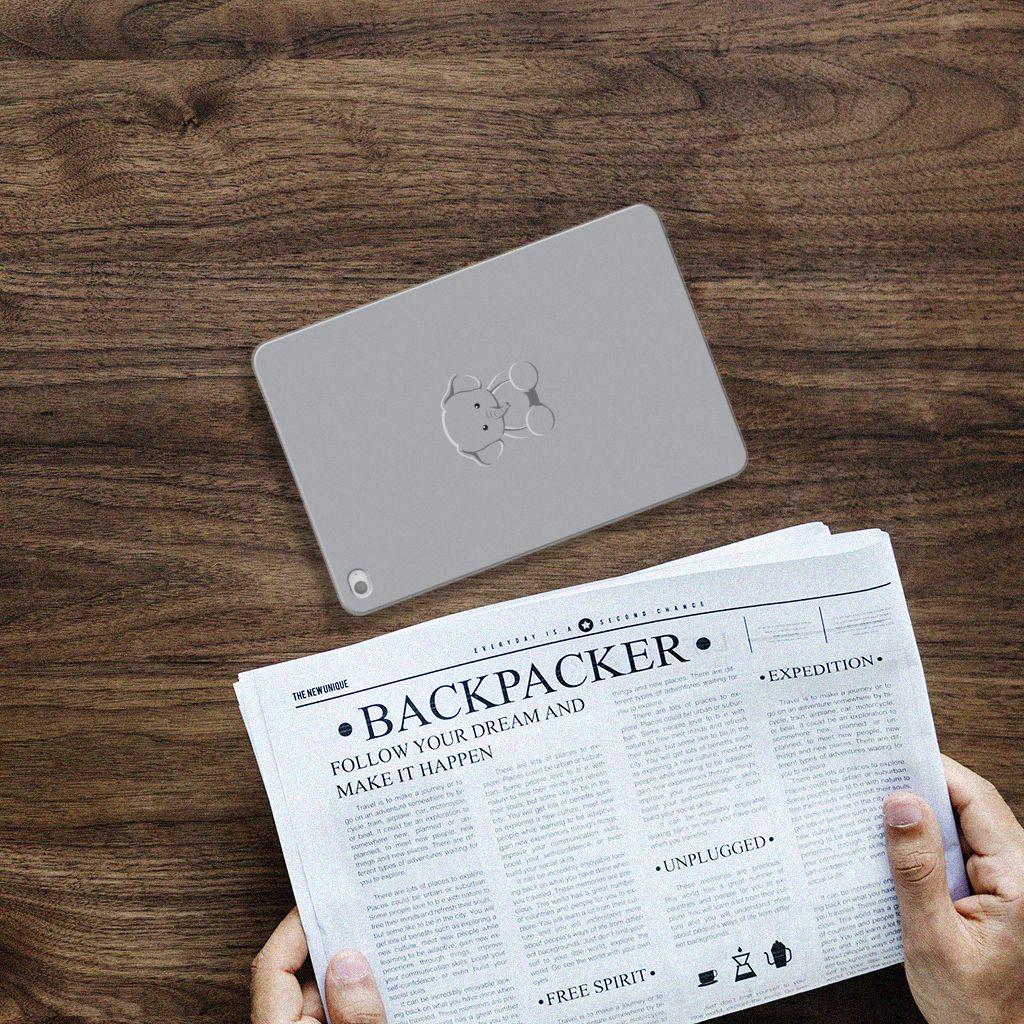 Apple iPad Mini 4 Uniek Tablethoesje Baby Olifant
