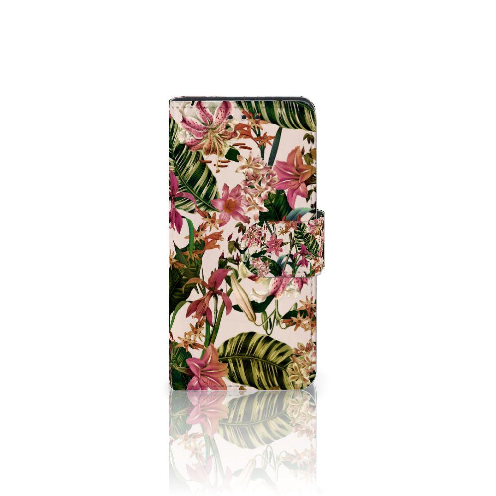 Samsung Galaxy S5 Mini Uniek Boekhoesje Flowers